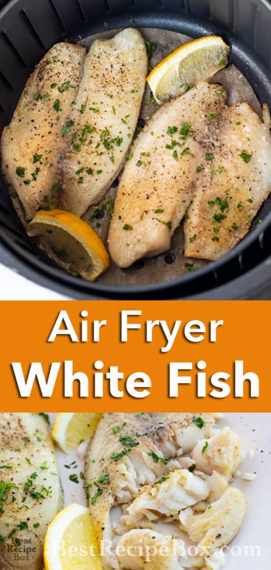 Air Fryer White Fish Recipe or Healthy Tilapia Recipe @bestrecipebox