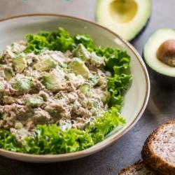 Avocado Tuna Salad Recipe and the Best Tuna Salad Ever | @bestrecipebox