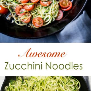 Best Zucchini Noodle Recipes | @BestRecipeBox