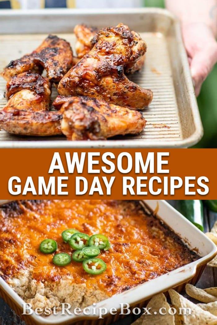 Awesome Game Day Recipes | BestRecipeBox.com