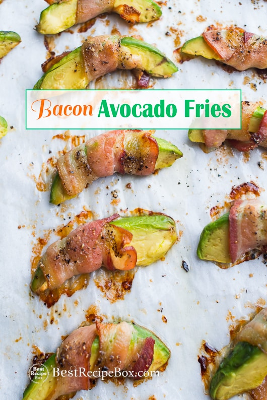 Bacon Avocado Fries for a great avocado appetizer recipe | @bestrecipebox