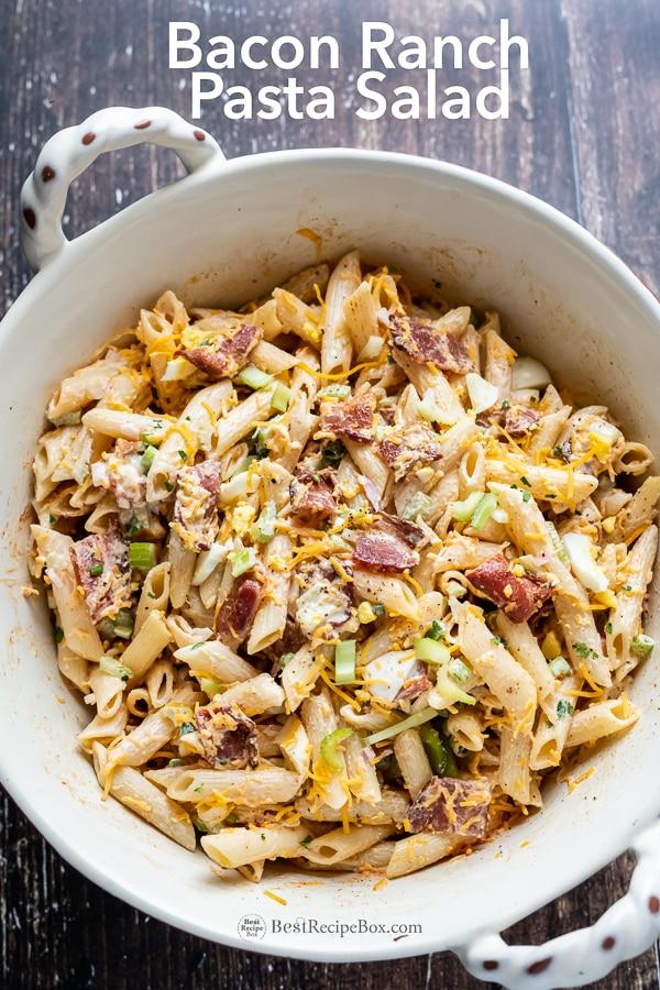 Pasta Salad Recipe With Ranch