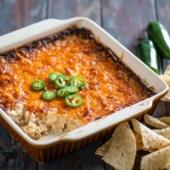 Baked Jalapeno Cheddar Dip Recipe and Best Cheese Dip Recipe | @bestrecipebox