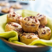 Best Banana Nut Muffins Recipe | BestRecipeBox.com