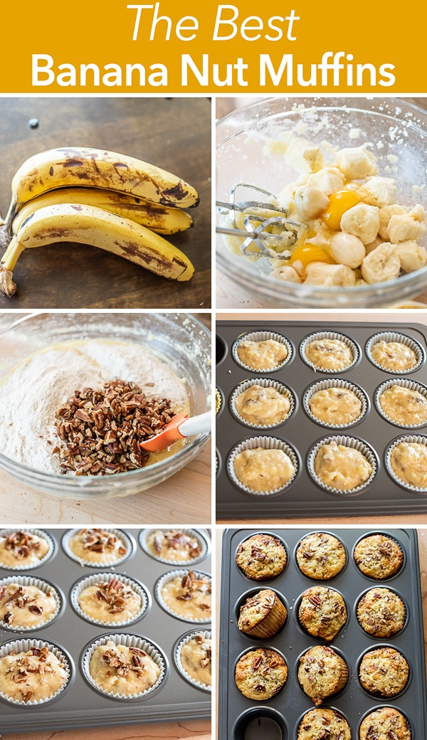 Best Banana Nut Muffins Recipe step by step