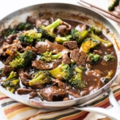Beef & Broccoli Recipe for Best Chinese Beef Broccoli Stir fry @bestrecipebox