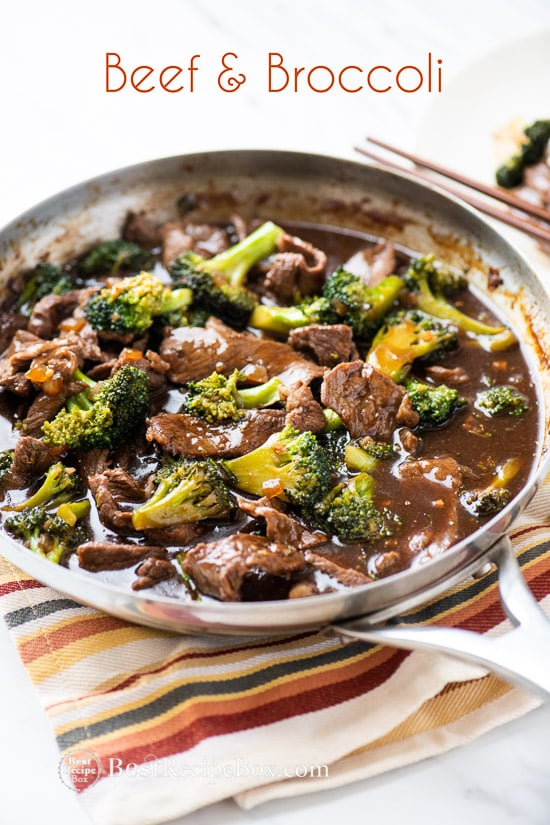 Easy Beef And Broccoli Stir Fry Recipe Broccoli Beef Recipe