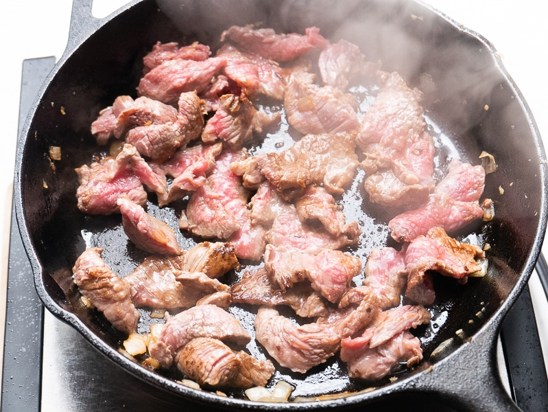 Sear Beef