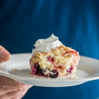 Very Berry Buttermilk Breakfast Cake