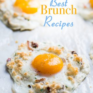 Best Brunch Recipes for Sunday Brunch or Easter Brunch | @bestrecipebox