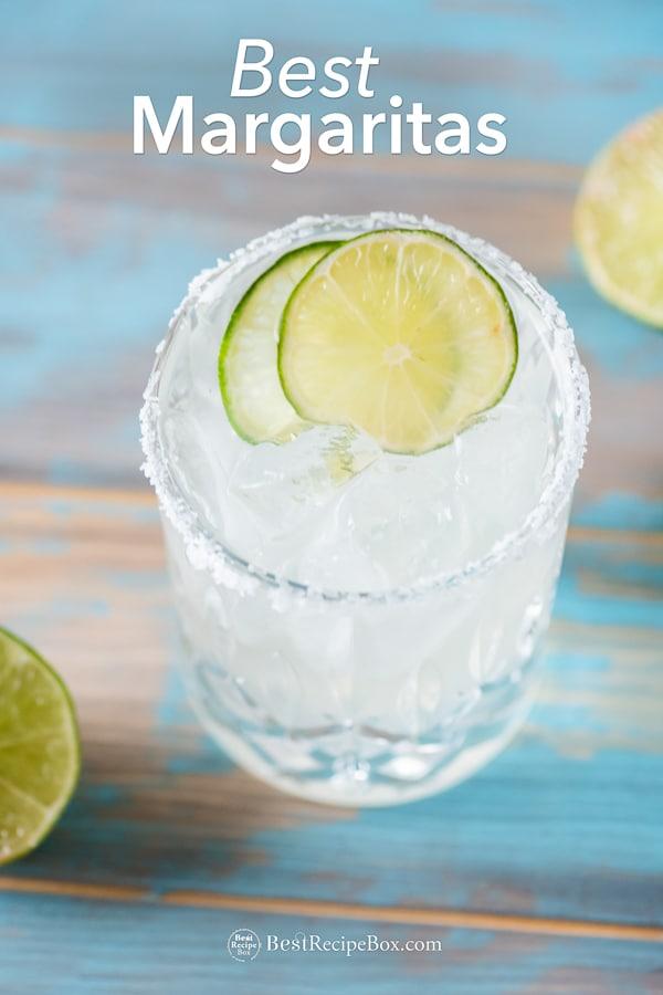 Best Margarita Recipe or Classic Margarita | BestRecipeBox.com