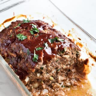 Favorite Juicy Meatloaf