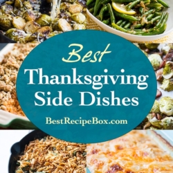 Best Thanksgiving Side Dishes Recipes That's Easy and Delicious! | @BestRecipeBox