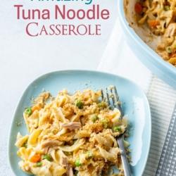 Best Tuna Casserole Recipe with Egg Noodles @BestRecipeBox