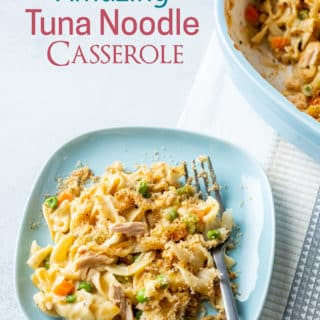 Best Tuna Casserole Recipe with Egg Noodles @BestRecipeBox