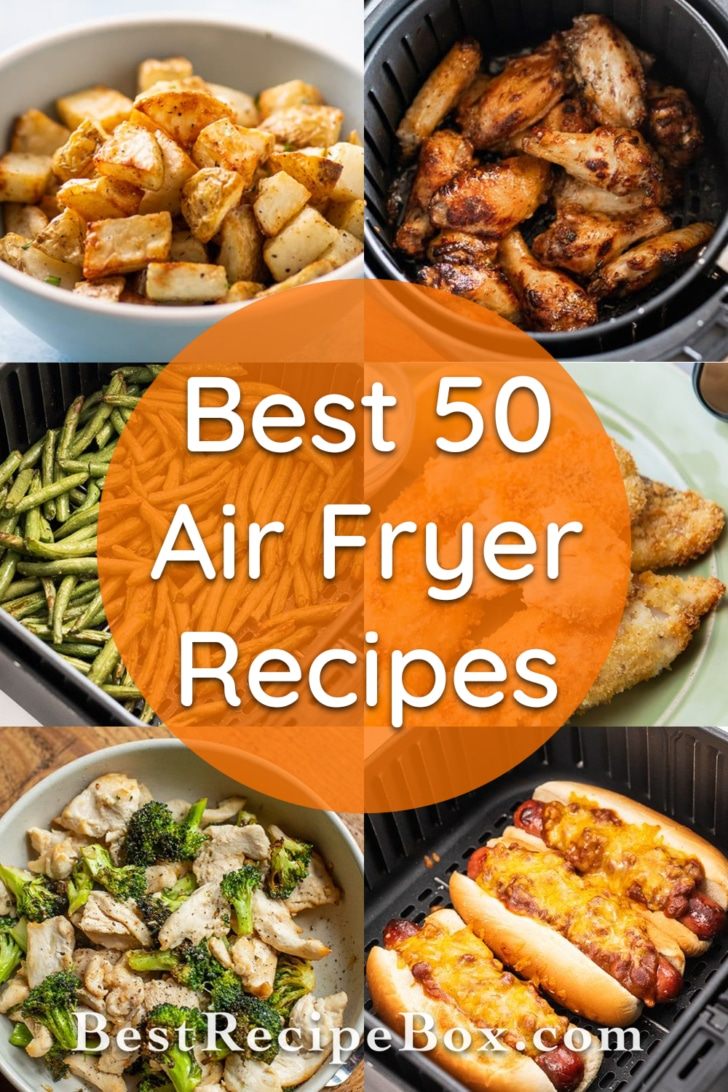 Air Fryer French fries, corn dogs and more types of air fried foods