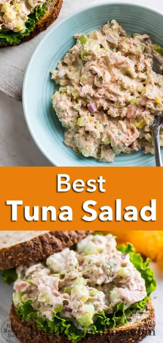 Mom's amazing Tuna Salad Recipe The Best Tuna Salad Ever | @bestrecipebox