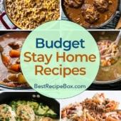 Budget Recipes for Easy quick dinner meals kids and family love | BestRecipeBox.com