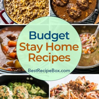 Budget Recipes for Easy quick dinner meals kids and family love | BestRecipeBox.com