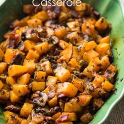 Butternut Squash Casserole Bake Recipe Best Butternut Squash Recipe | @bestrecipebox