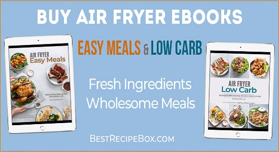 Air Fryer Cookbook | @BestRecipeBox.com