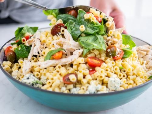 Combine Salad Ingredients