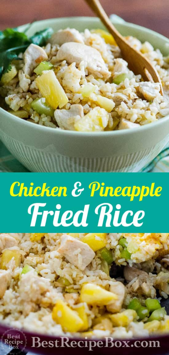 Best Chicken Fried Rice Recipe Pineapple for Easy Chicken Fried Rice @BestRecipebox