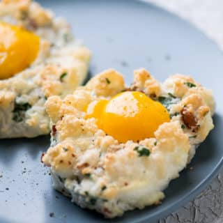 Low-Carb Cloud Eggs (Eggs in a Cloud)