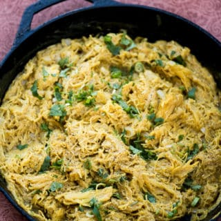 Coconut Curry Spaghetti Squash