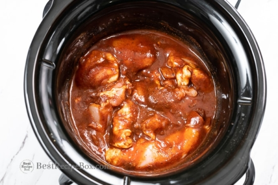 crock pot slow cooker shredded chicken tacos