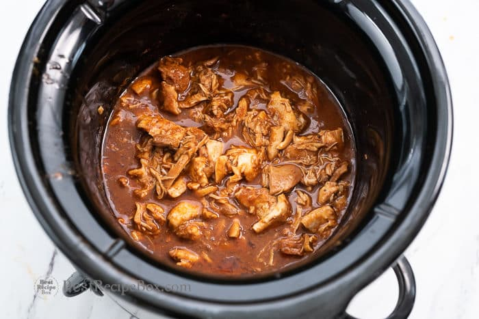 Crock Pot Mexican Chicken Recipe | BestRecipeBox.com