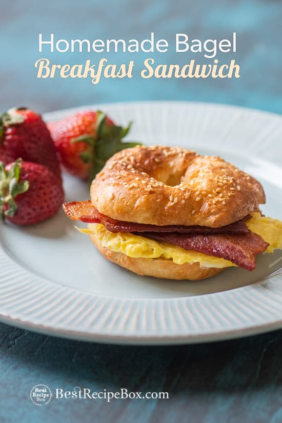 Healthy Bagel Recipe in Oven @bestrecipebox