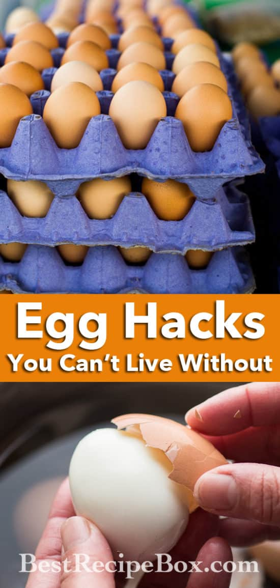Egg Hacks You Can't Live Without | @BestRecipeBox