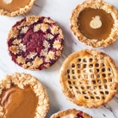 Fall Pie Designs For Autumn Thanksgiving Pie Leaf Designs @bestrecipebox