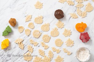 Fall Pie Designs Autumn Leaves Turkey Pumpkins Acorns for Thanksgiving Pies @BestRecipeBox