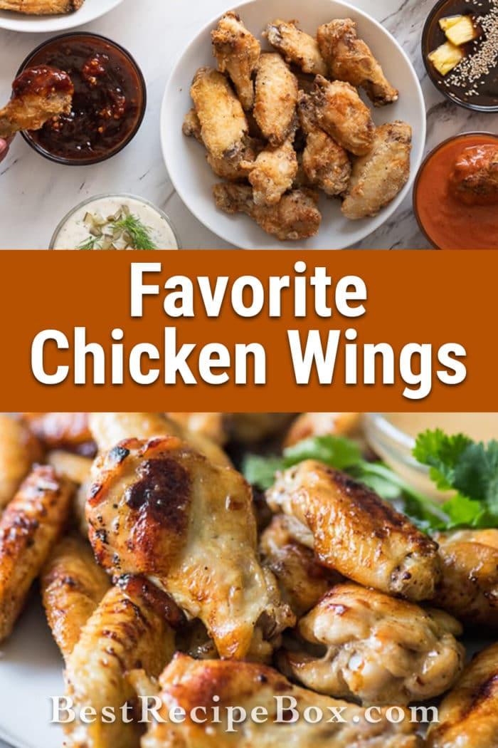 Best Chicken Wing Recipes and Buffalo Wing Recipe | @bestrecipebox