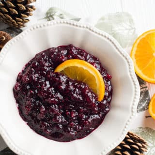Easy Fresh Cranberry Sauce