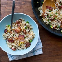 Fried Rice recipe with bacon-thumb 200