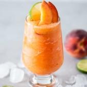 Frozen Peach Margaritas Recipe Blended | BestRecipeBox.com