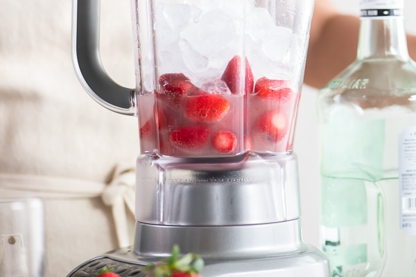 Blend Strawberries
