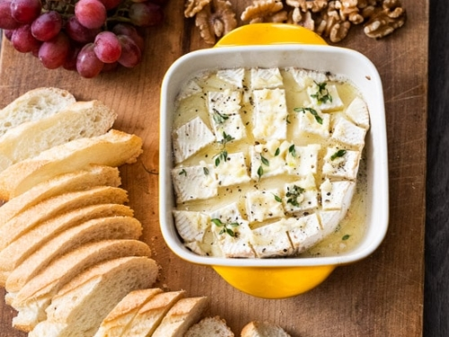 Best Baked Brie Dip Recipe With Garlic Butter Best Recipe Box