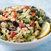 Favorite Greek Pasta Salad