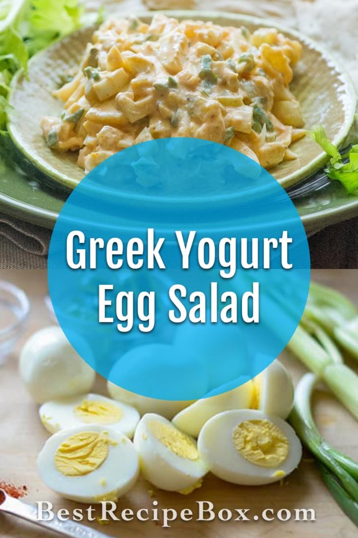 Greek Yogurt Egg Salad - BestRecipeBox.com