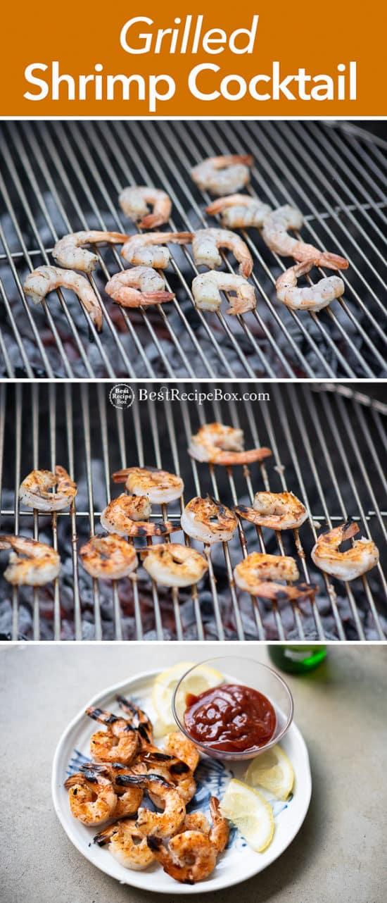 Grilled Shrimp Cocktail step by step