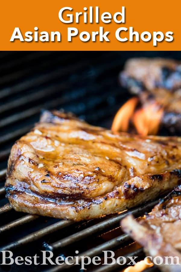 Grilled Asian Chili Garlic Pork Chops Recipe BBQ Pork Chops   @bestrecipebox