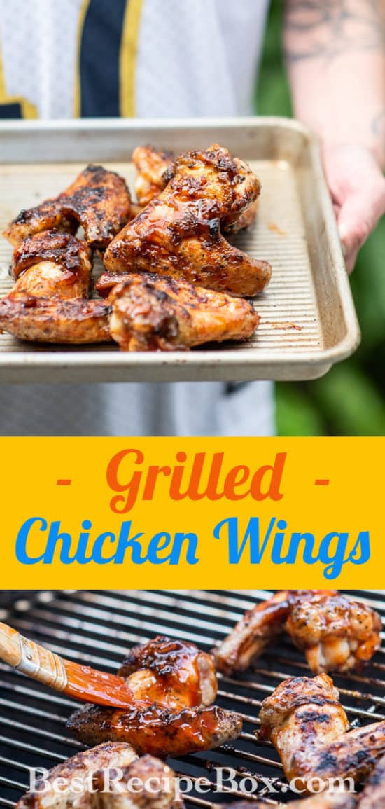 Grilled Chicken Wings Recipe With Sticky Asian Sauce Best