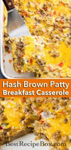 Hash-Brown-Patty-Breakfast-Casserole-Bake-BestRecipeBox-1