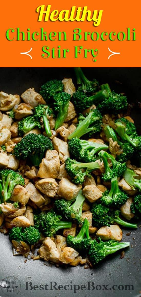 Low Fat Chicken Broccoli Stir Fry Recipe   @bestrecipebox