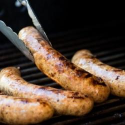 Homemade Sweet Italian Sausage Recipe for BBQ Grilling Sausage @bestrecipebox