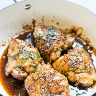 Honey Garlic Chicken Thighs